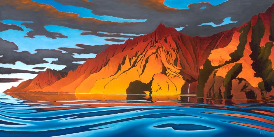 Napali Sunset 24x48